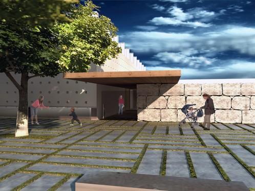 Scuola in piazza levante Bisceglie Studio di Architettura Bruschi Esposito