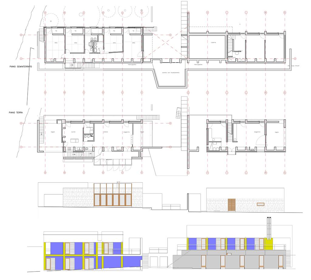 Casa caramanna studio di architettura bruschi esposito for Aggiungere ai piani di casa