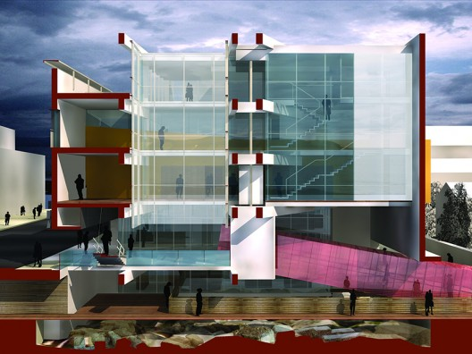 Sede Fundación Arquitectura Contemporánea y entorno de la manzana de San Pablo en Córdoba