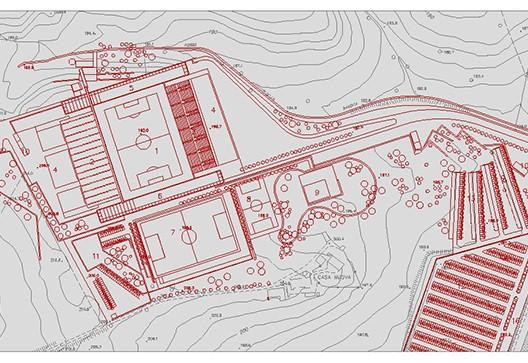 Concorso per il nuovo stadio di Siena - studio di architettura Bruschi Esposito